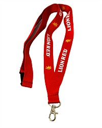 Lion Red Lanyard