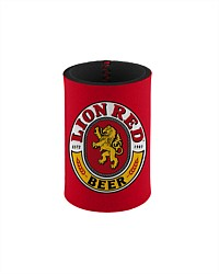 Lion Red Stubby Holder