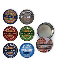 Speight's Coasters in a tin