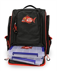 Lion Red Fishing Bag