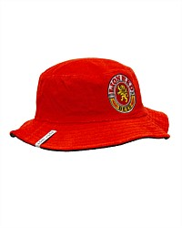 Lion Red Retro Bucket Hat