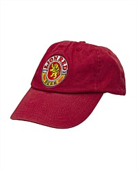 Lion Red Retro Cap
