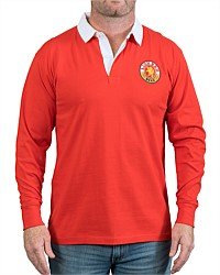 Lion Red Retro Rugby Jersey
