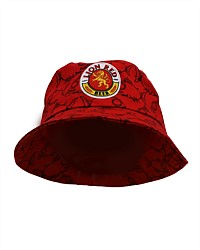 Lion Red Bucket Hat