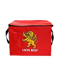 Lion Red Mini Cooler Bag