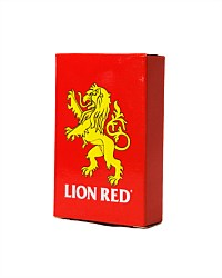 Lion Red Playing Cards
