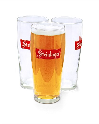 Steinlager Classic Glass 12pk